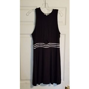 American Eagle sleevelss dress with midriff cutout